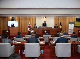 해남군의회, 2019년 첫 임시회 개회