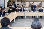 장석웅 전남교육감, 도서지역 교육현장 의견 경청