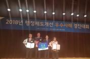 해남군 자원봉사 시간 환산금 기부사업 국무총리상 수상